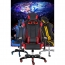 Executive Leather Racer Gaming With Lumbar Pillow Image 6
