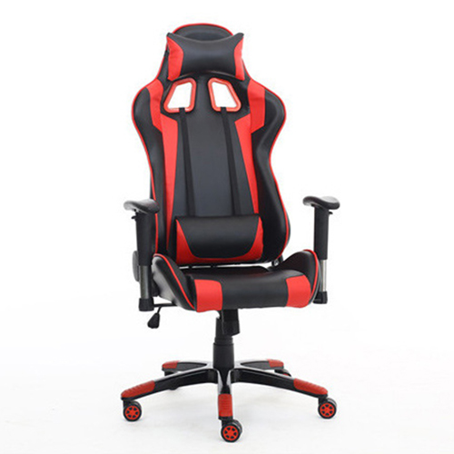 Executive Leather Racer Gaming With Lumbar Pillow Image 7