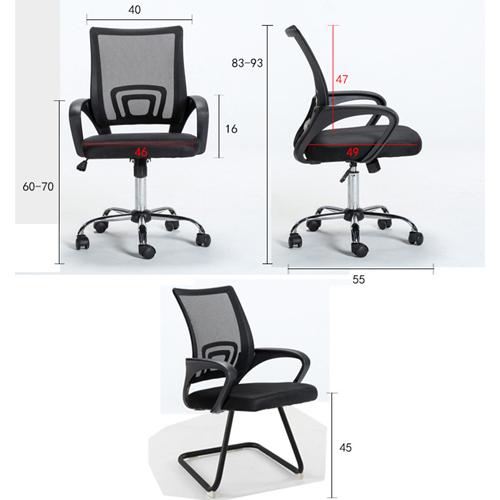 Comfort Ergonomic Mesh Chair Image 8