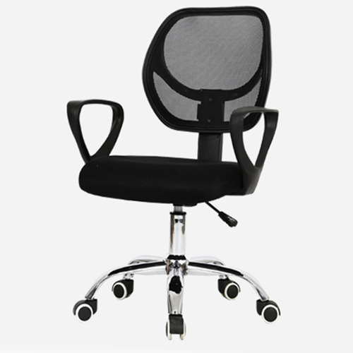 Sara Mesh Fabric Office Chair With Arms Image 3