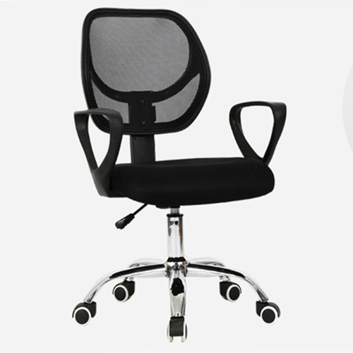 Sara Mesh Fabric Office Chair With Arms Image 5