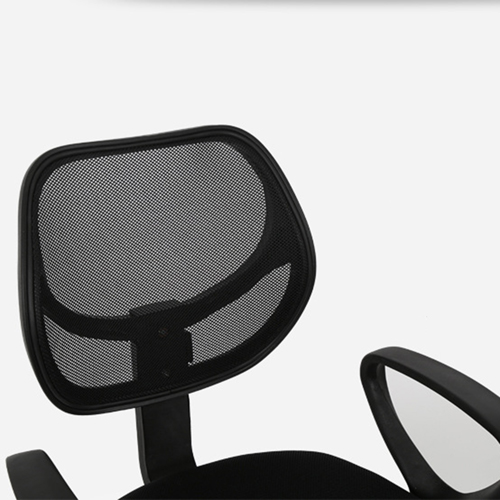 Sara Mesh Fabric Office Chair With Arms Image 8
