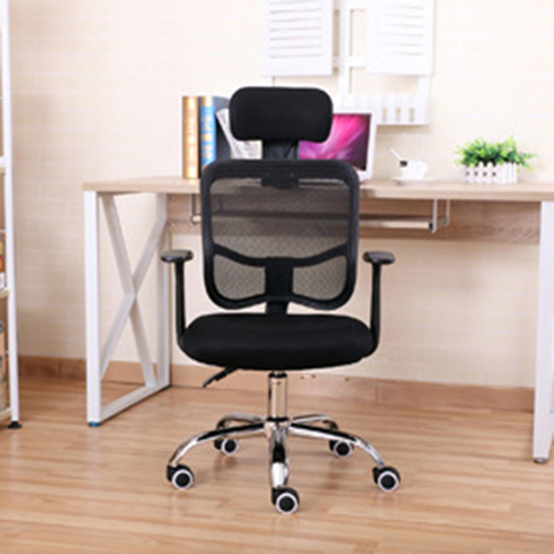 Sleek Ergonomic Mesh Chair With Headrest Image 5