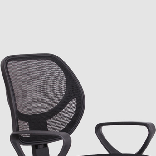 Smart Steel Fixed Mesh Office Chair Image 9