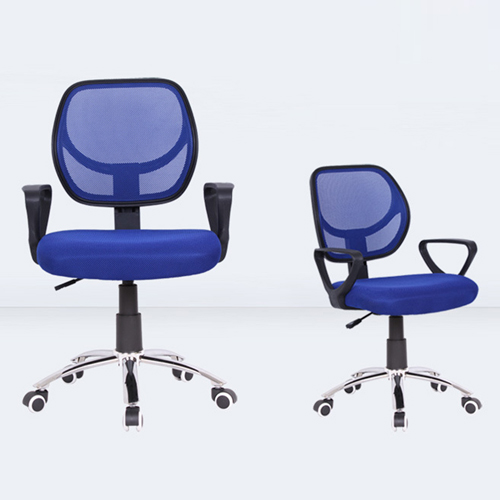 Smart Steel Fixed Mesh Office Chair Image 4