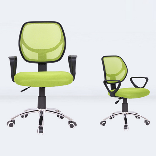 Smart Steel Fixed Mesh Office Chair Image 5