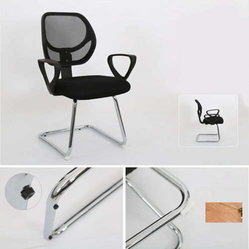 Smart Steel Fixed Mesh Office Chair Image 6