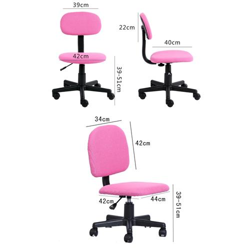 Steno Swivel Armless Chair Image 7