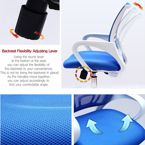 Modern Breathable Mesh Office Chair Image 11