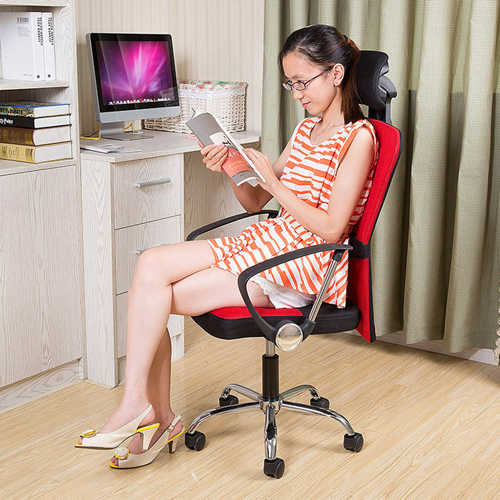 Breathable Mesh Office Rolling Chair Image 3
