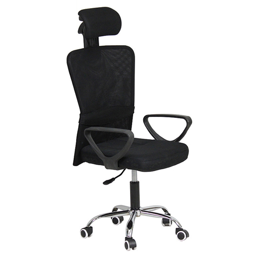 Competitive Office Rolling Chair With Headrest Image 1