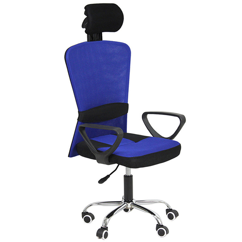 Competitive Office Rolling Chair With Headrest Image 2