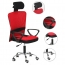 Competitive Office Rolling Chair With Headrest Image 3
