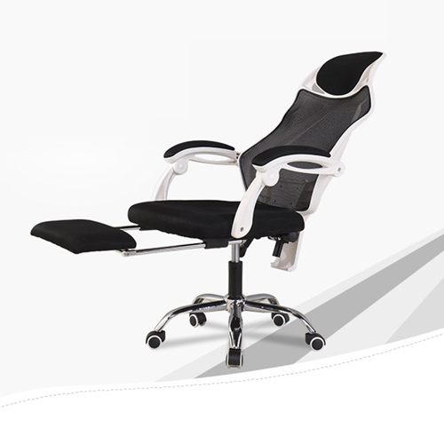 Ergonomic Swivel Mesh Chair with Stealth Legrest Image 9