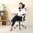Ergonomic Swivel Mesh Chair with Stealth Legrest Image 12