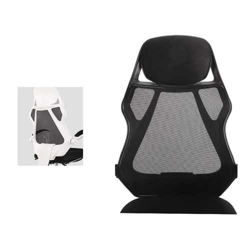 Ergonomic Swivel Mesh Chair with Stealth Legrest Image 14