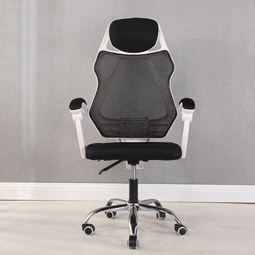 Ergonomic Swivel Mesh Chair with Stealth Legrest Image 3