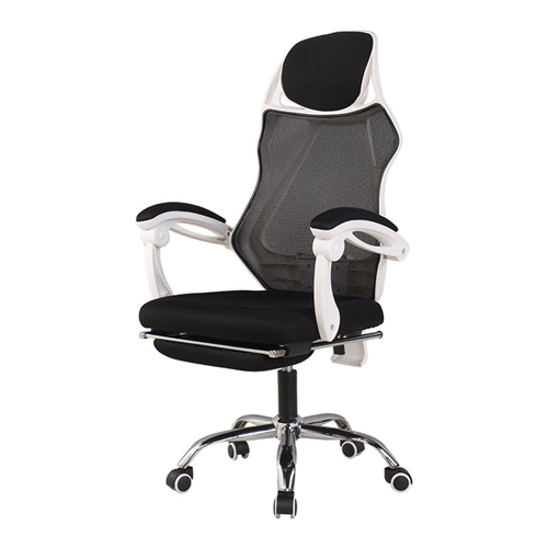 Ergonomic Swivel Mesh Chair with Stealth Legrest Image 4