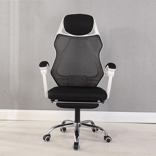 Ergonomic Swivel Mesh Chair with Stealth Legrest Image 5