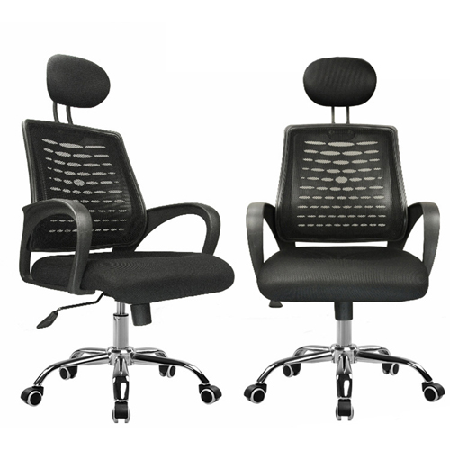 Ergonomic Mesh Office Chair With Headrest Image 9