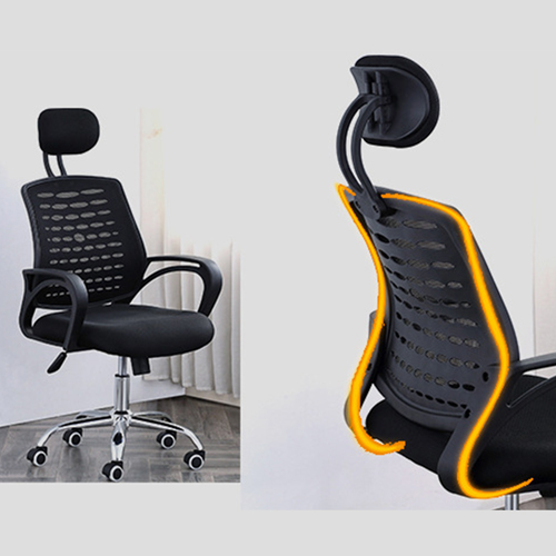 Ergonomic Mesh Office Chair With Headrest Image 20