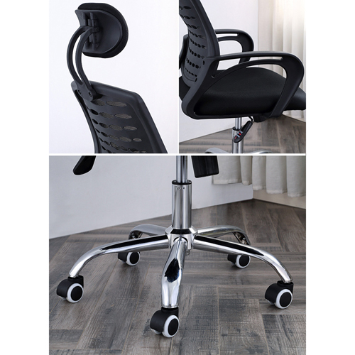 Ergonomic Mesh Office Chair With Headrest Image 27