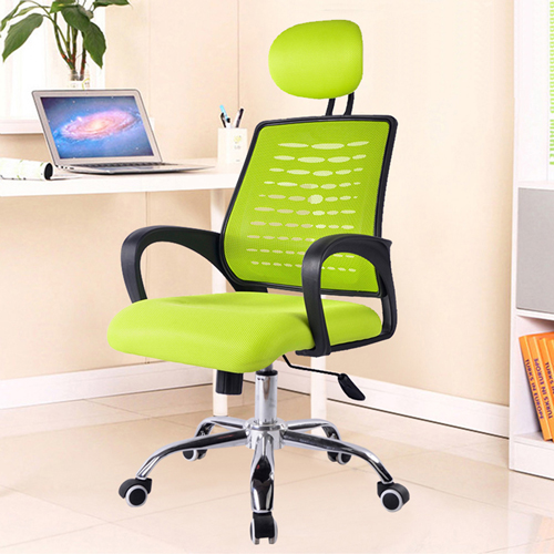 Ergonomic Mesh Office Chair With Headrest Image 1