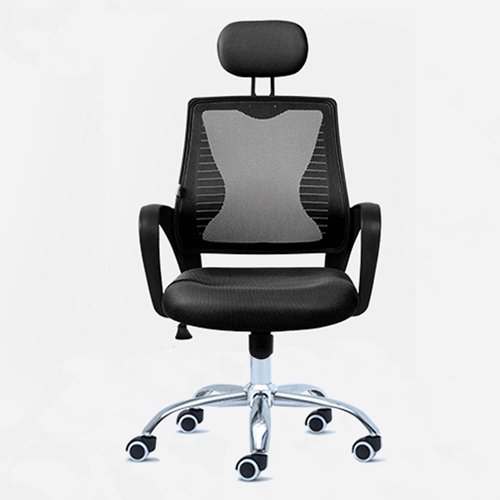 Ergonomic Mesh Office Chair With Headrest Image 5