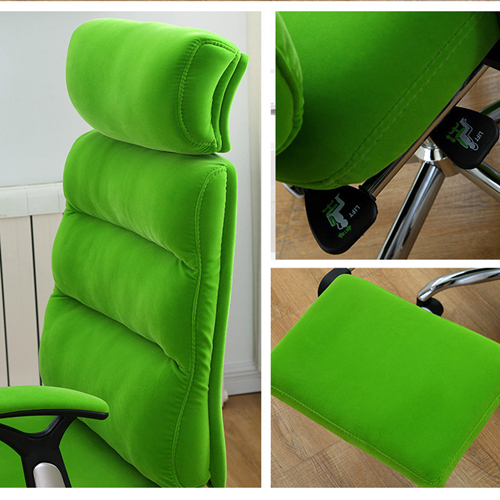 Reclining Sofa Chair With Footrest Image 9
