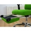 Reclining Sofa Chair With Footrest Image 10