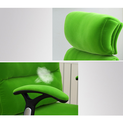 Reclining Sofa Chair With Footrest Image 11