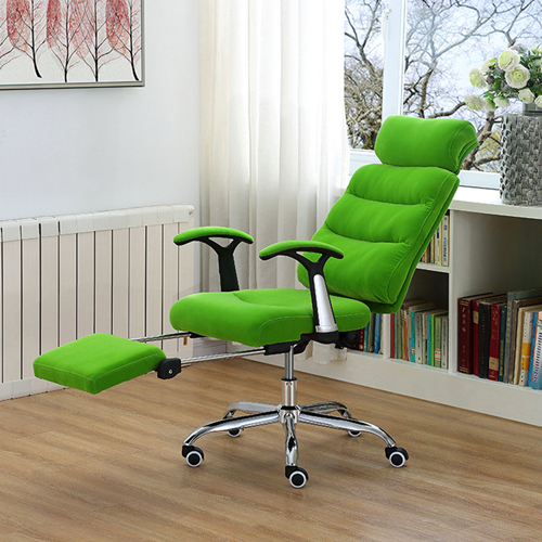 Reclining Sofa Chair With Footrest Image 2