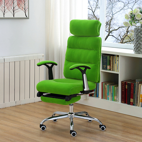 Reclining Sofa Chair With Footrest Image 3