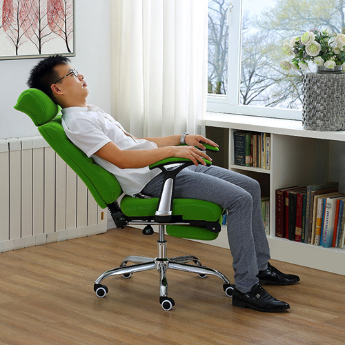 Reclining Sofa Chair With Footrest Image 5