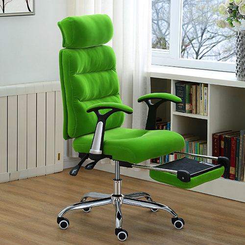 Reclining Sofa Chair With Footrest Image 6