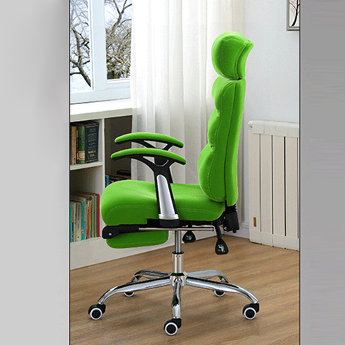 Reclining Sofa Chair With Footrest Image 8