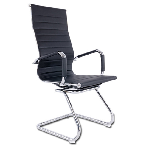 Ripple Leather Office Chair Image 9