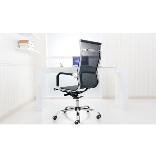 Ripple Leather Office Chair Image 18