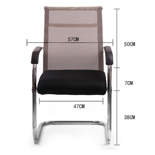 Static Executive Cantilever Mesh Chair Image 4