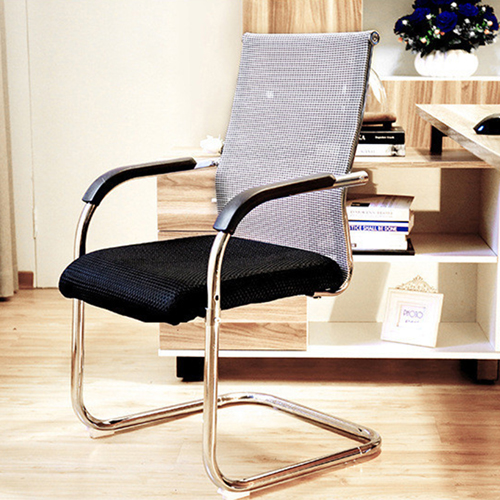 Static Executive Cantilever Mesh Chair Image 6