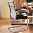 Static Executive Cantilever Mesh Chair Image 7