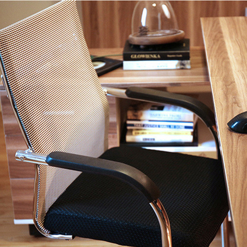Static Executive Cantilever Mesh Chair Image 8