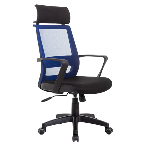 Fully Adjustable Mesh Office Chair With Headrest Image 2