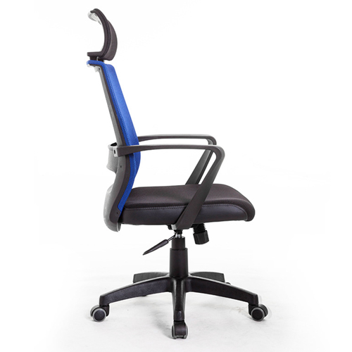 Fully Adjustable Mesh Office Chair With Headrest Image 3