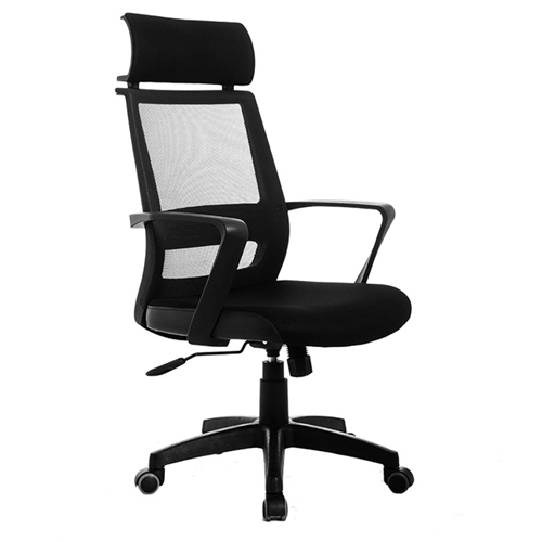 Fully Adjustable Mesh Office Chair With Headrest