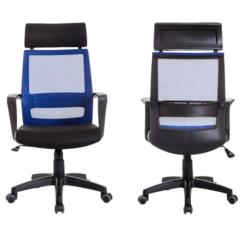 Fully Adjustable Mesh Office Chair With Headrest Image 4