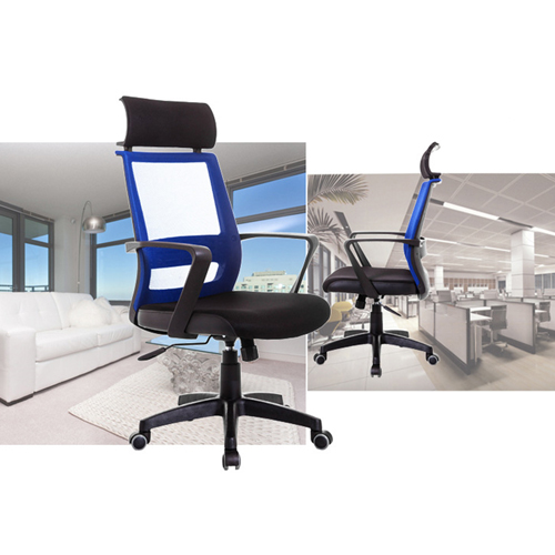Fully Adjustable Mesh Office Chair With Headrest Image 5