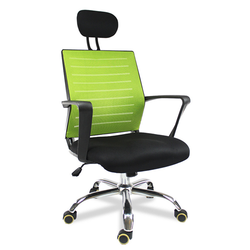 Add On High Back Mesh Chair With Headrest Image 1