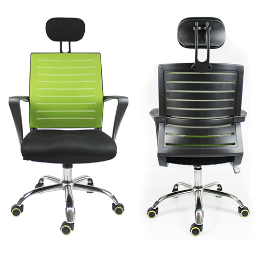 Add On High Back Mesh Chair With Headrest Image 3