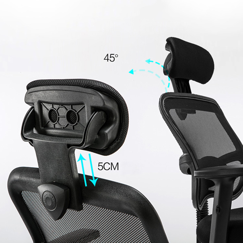Executive Mesh Office Chair With Header Image 9
